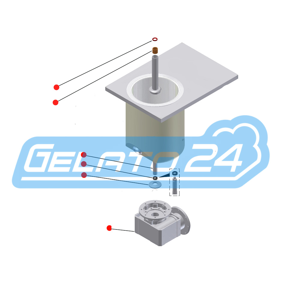 COREMA_eurogel_1200_analog_Getriebe